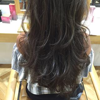 渋谷系 外国人風 コンサバ ゆるふわ ヘアスタイルや髪型の写真・画像