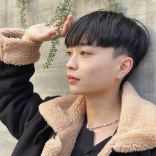 韓国 マッシュショート 刈り上げ ショート ヘアスタイルや髪型の写真・画像