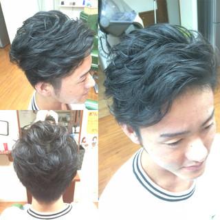 刈り上げ ショート モテ髪 パーマ ヘアスタイルや髪型の写真・画像