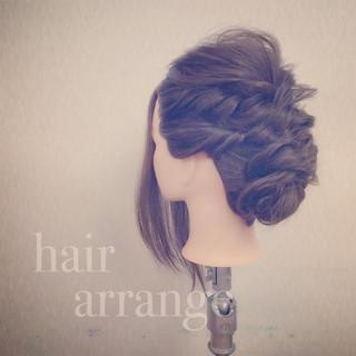 二次会 モテ髪 ゆるふわ 愛され ヘアスタイルや髪型の写真・画像
