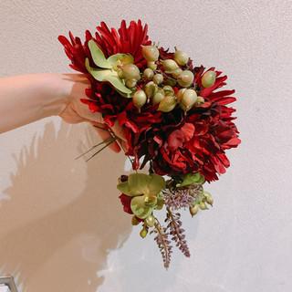 結婚式ヘアアレンジ 卒業式 エレガント 結婚式髪型 ヘアスタイルや髪型の写真・画像