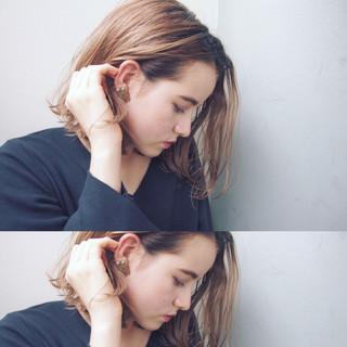 ニュアンス 色気 ボブ 外国人風 ヘアスタイルや髪型の写真・画像