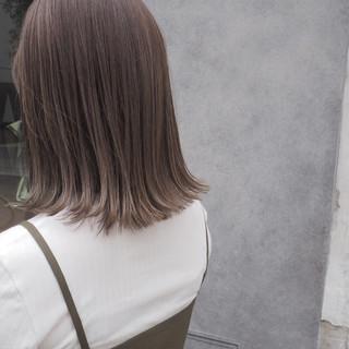 透明感 秋 ナチュラル ハイライト ヘアスタイルや髪型の写真・画像