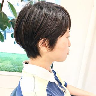 毛束感 ベリーショート ショートボブ 小顔ショート ヘアスタイルや髪型の写真・画像