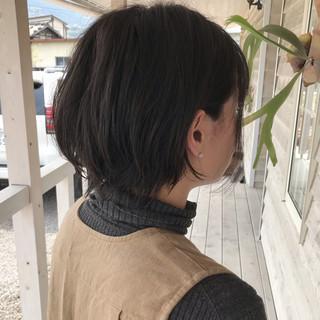 ショート ショートボブ 黒髪ショート ショートヘア ヘアスタイルや髪型の写真・画像