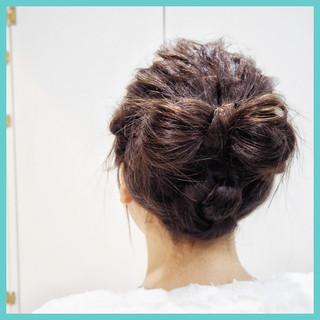 ショート 女子力 ヘアアレンジ 簡単ヘアアレンジ ヘアスタイルや髪型の写真・画像