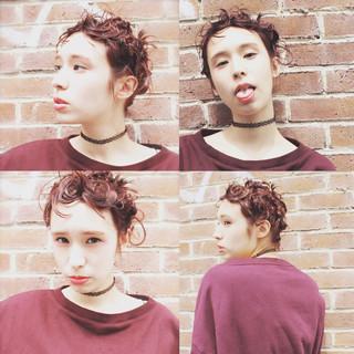 外国人風 夏 前髪あり パーマ ヘアスタイルや髪型の写真・画像