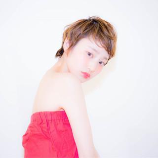 フェミニン ハイライト ガーリー 外国人風 ヘアスタイルや髪型の写真・画像