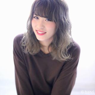 ピュア ゆるふわ ハイライト ガーリー ヘアスタイルや髪型の写真・画像