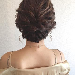 ヘアアレンジ デート 女子会 結婚式 ヘアスタイルや髪型の写真・画像