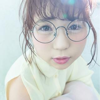 外国人風 セミロング 大人かわいい ショート ヘアスタイルや髪型の写真・画像