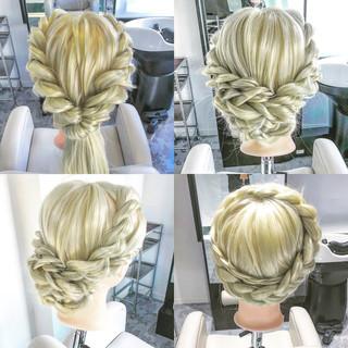 上品 大人女子 結婚式 エレガント ヘアスタイルや髪型の写真・画像