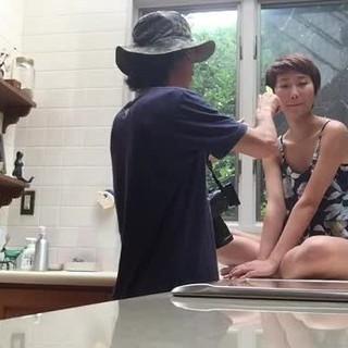 ガーリー ショートバング アッシュ ピュア ヘアスタイルや髪型の写真・画像