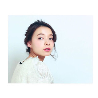 大人女子 簡単ヘアアレンジ ヘアアレンジ 黒髪 ヘアスタイルや髪型の写真・画像