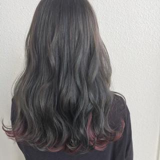 外国人風 ロング ウェーブ 外国人風カラー ヘアスタイルや髪型の写真・画像