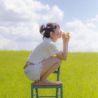 涼しげ 色気 ヘアアレンジ 夏 ヘアスタイルや髪型の写真・画像