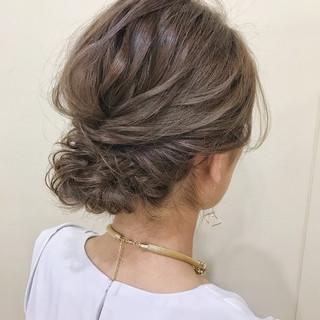 夏 花火大会 お祭り ミディアム ヘアスタイルや髪型の写真・画像