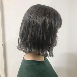 簡単ヘアアレンジ ボブ デート ストリート ヘアスタイルや髪型の写真・画像