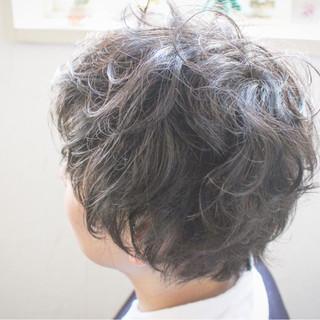 ショート 小顔 マッシュ ボブ ヘアスタイルや髪型の写真・画像