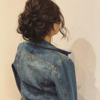 アップ ヘアセット フェミニン アップスタイル ヘアスタイルや髪型の写真・画像