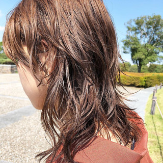 ミディアム ストリート ヘアアレンジ 女子力 ヘアスタイルや髪型の写真・画像