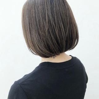 大人かわいい 前下がり ブランジュ ナチュラル ヘアスタイルや髪型の写真・画像