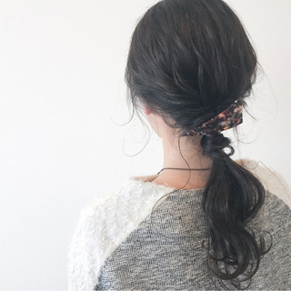 くるりんぱ ショート 大人女子 ロング ヘアスタイルや髪型の写真・画像