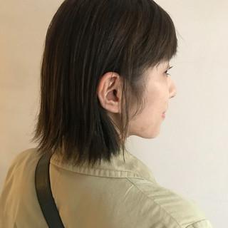 スポーツ ボブ デート ヘアアレンジ ヘアスタイルや髪型の写真・画像