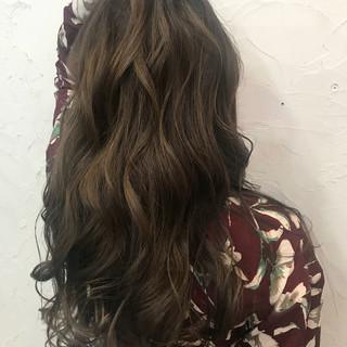 外国人風 上品 ハイライト 外国人風カラー ヘアスタイルや髪型の写真・画像