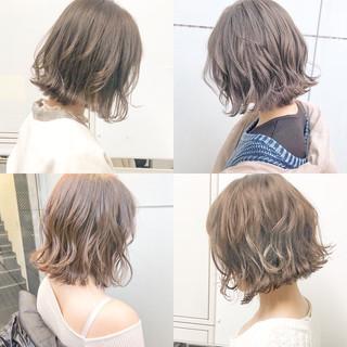 パーマ 簡単ヘアアレンジ フェミニン デート ヘアスタイルや髪型の写真・画像