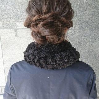 ミディアム ゆるふわ ショート ナチュラル ヘアスタイルや髪型の写真・画像