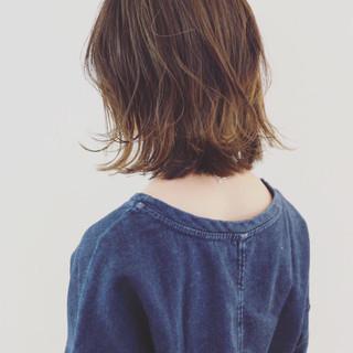 インナーカラー グラデーションカラー バレイヤージュ ストリート ヘアスタイルや髪型の写真・画像