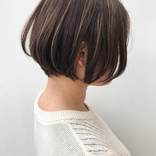 ハイライト コンサバ 女子力 オフィス ヘアスタイルや髪型の写真・画像