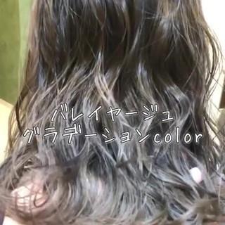 上品 外国人風 外国人風カラー アウトドア ヘアスタイルや髪型の写真・画像