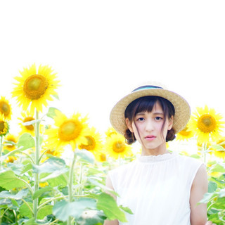 色気 ガーリー 夏 お団子 ヘアスタイルや髪型の写真・画像