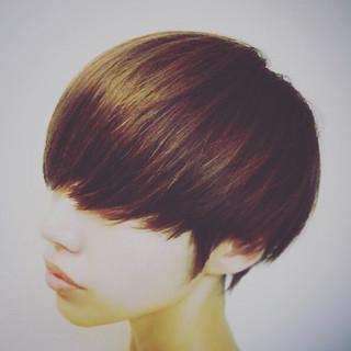 グラデーションカラー マッシュ かっこいい 小顔 ヘアスタイルや髪型の写真・画像