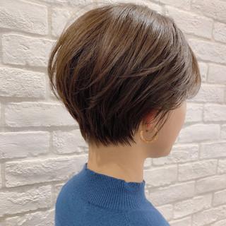 パーマ ヘアアレンジ ショート デート ヘアスタイルや髪型の写真・画像