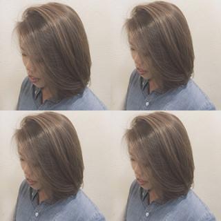 ハイライト 外国人風 ナチュラル 似合わせ ヘアスタイルや髪型の写真・画像