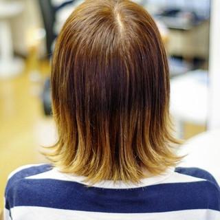 ワイドバング 大人かわいい アッシュ ハイライト ヘアスタイルや髪型の写真・画像
