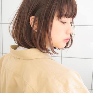 大人かわいい デート ナチュラル オフィス ヘアスタイルや髪型の写真・画像