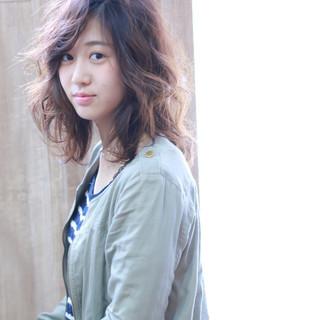 フェミニン 大人かわいい ゆるふわ ガーリー ヘアスタイルや髪型の写真・画像
