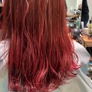 ガーリー ピンクベージュ ピンク ピンクバイオレット ヘアスタイルや髪型の写真・画像