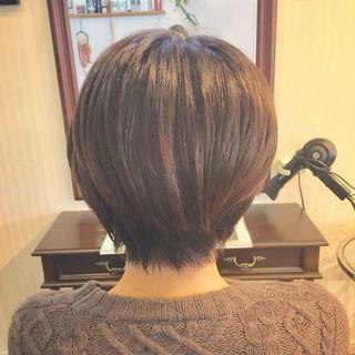 ヘアカット ショートヘア ショートカット ショート ヘアスタイルや髪型の写真・画像