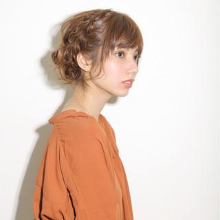 ヘアアレンジ 外国人風 ロング 編み込み ヘアスタイルや髪型の写真・画像