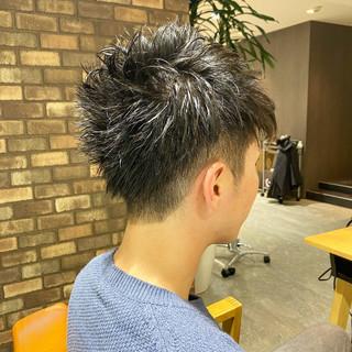 メンズヘア メンズショート ショート メンズカット ヘアスタイルや髪型の写真・画像