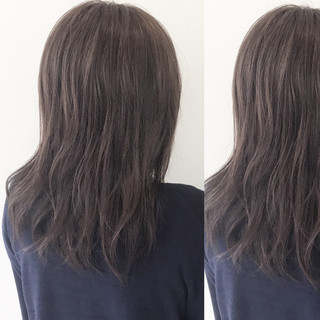 ウェーブ アンニュイ ゆるふわ 梅雨 ヘアスタイルや髪型の写真・画像