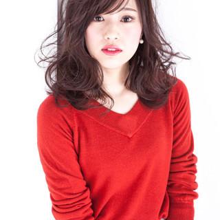 イルミナカラー 大人かわいい フェミニン ニュアンス ヘアスタイルや髪型の写真・画像