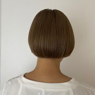 ミニボブ ショートヘア モード ベリーショート ヘアスタイルや髪型の写真・画像