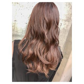 ピンク ナチュラル 女子力 透明感 ヘアスタイルや髪型の写真・画像