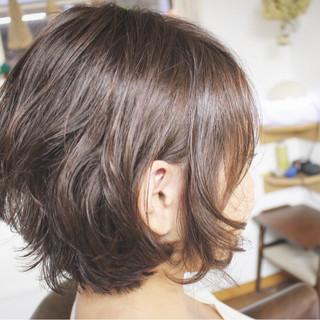 ゆるふわ ボブ フェミニン 外国人風 ヘアスタイルや髪型の写真・画像